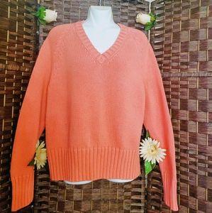 New BASS Ghbassyoo Sweater melon orange color
